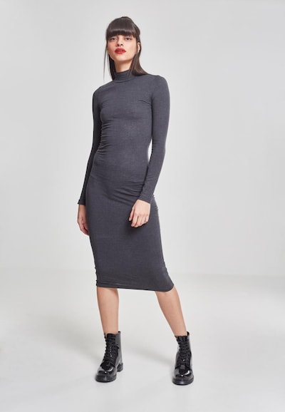 Urban Classics Kleid in dunkelgrau, Modelansicht