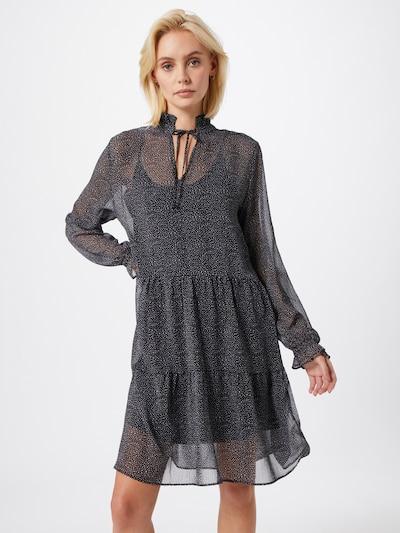 CATWALK JUNKIE Kleid 'DR MINI SPOTS' in schwarz / weiß, Modelansicht