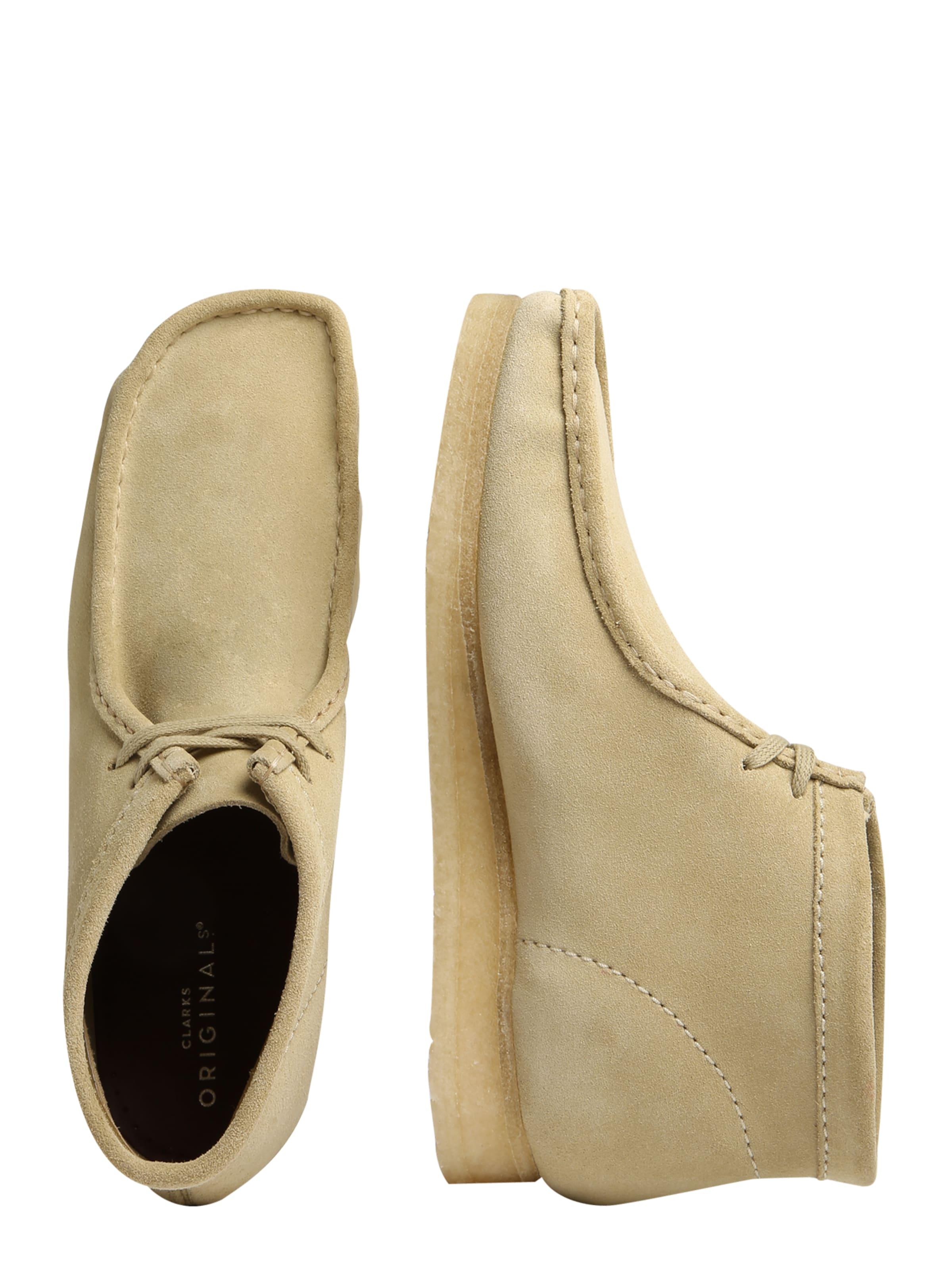 Clarks Originals Stiefel Stiefel Stiefel 'Wallabee Leder Billige Herren- und Damenschuhe 4d4f7d