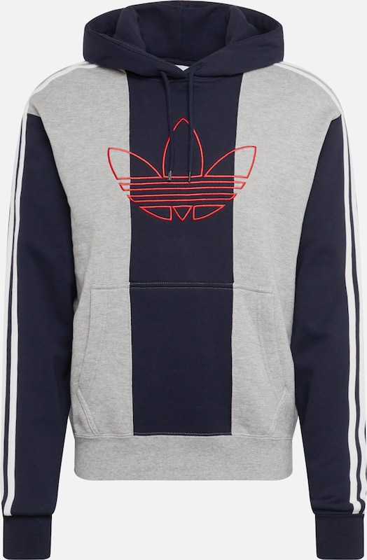 adidas originals sweatshirt vocal d in hellgelb weiß