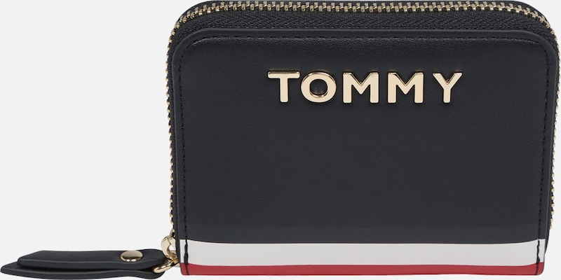 TOMMY HILFIGER Portemonnee 'ICONIC TOMMY' in Champagne
