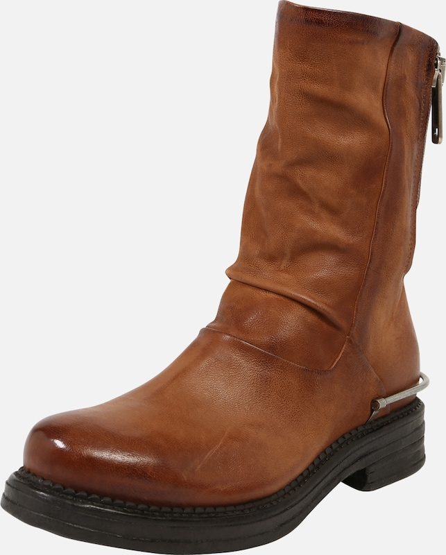 A.S.98 Stiefel in cognac: Frontalansicht