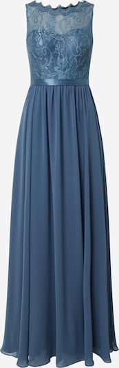 Rochie de seară MAGIC NIGHTS pe albastru fum, Vizualizare produs
