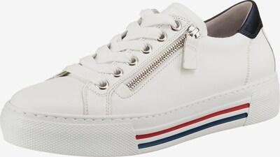 GABOR Sneaker in navy / grenadine / weiß, Produktansicht