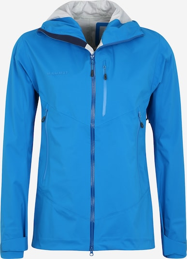 MAMMUT Outdoorjas 'Kento' in de kleur Blauw, Productweergave