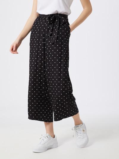 Kaffe Hose 'KAdarielle Culotte Pants' in schwarz / weiß, Modelansicht