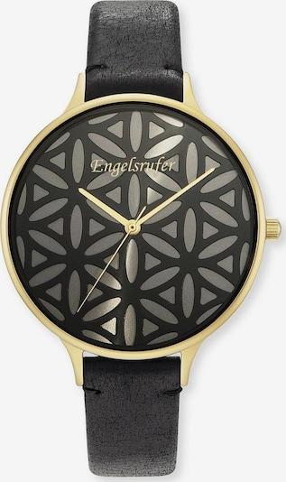 Engelsrufer Uhr 'Lebensblume, Erwa-Lifl-LBK1-LG' in gold / grau / schwarz, Produktansicht