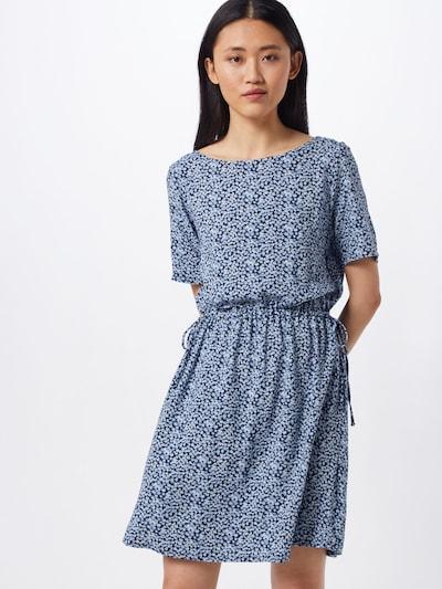 ICHI Kleid 'IHVERA' in blau, Modelansicht