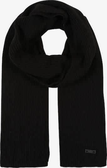 Fular Calvin Klein pe negru, Vizualizare produs