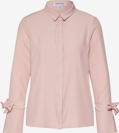 Unique21 Bluzka 'BLUSH SHIRT' w kolorze różowy pudrowym, Podgląd produktu