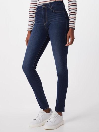 LEVI'S Jeans '721' in de kleur Blauw denim, Modelweergave