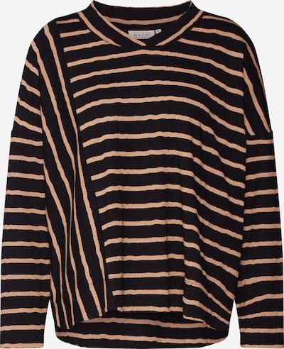 Masai Tričko 'Daivi' - velbloudí / černá, Produkt