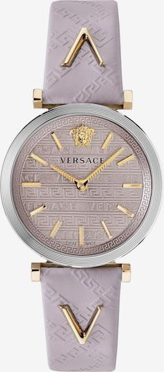 VERSACE Uhr 'V-TWIST, VELS00219' in gold / lila / silber: Frontalansicht