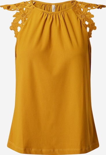 ONLY Haut 'SILJA' en jaune, Vue avec produit
