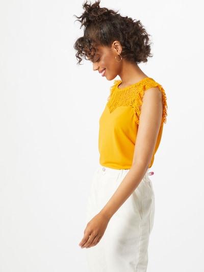 VERO MODA Blouse 'ALBERTA' in de kleur Geel, Modelweergave