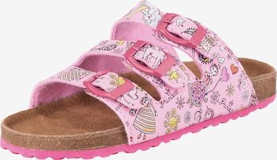 SUPERSOFT by Indigo Pantoletten in rosa, Produktansicht