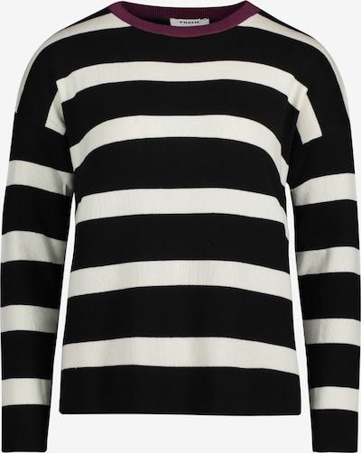 Public Pullover in beere / schwarz / weiß, Produktansicht