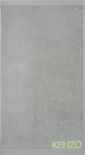 Kenzo Maison Handtuch 'ICONIC' in grau, Produktansicht
