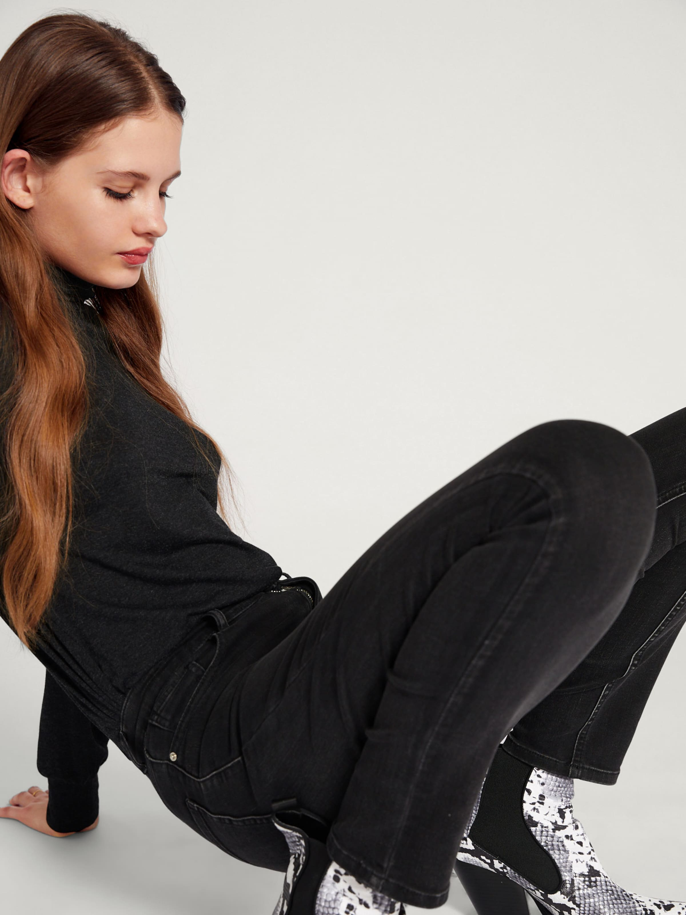 Denim 'talina' Grey In Edited Jeans OPuikXZ