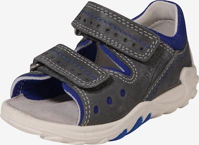 SUPERFIT Sandale 'Flow' in blau / basaltgrau, Produktansicht