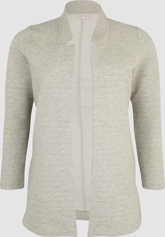 ONLY Carmakoma Strickjacke in grau  Markenkleidung für Männer und Frauen