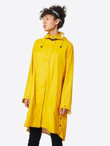 ILSE JACOBSEN Between-seasons coat in Yellow