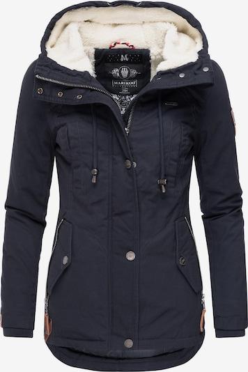MARIKOO Winterjacke 'Bikoo' in dunkelblau, Produktansicht