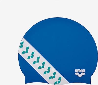 ARENA Badekappe 'Unix II' in blau / weiß, Produktansicht