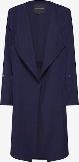 BROADWAY NYC FASHION Manteau mi-saison 'Cleora' en bleu marine: Vue de face