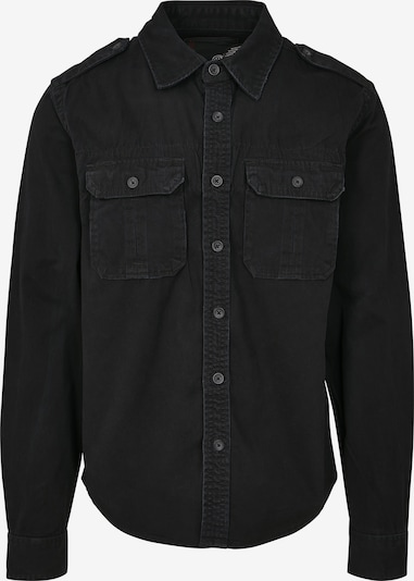 Brandit Hemd in schwarz, Produktansicht