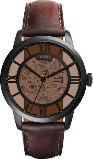 FOSSIL Analógové hodinky - tmavohnedá / antracitová, Produkt