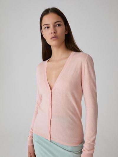rózsaszín EDITED Kardigán 'Lorraine', Modell nézet