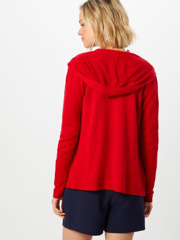 S Red En Feu Cardigan Label oliver Rouge 3AjL5R4