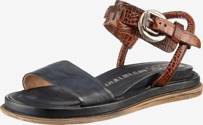 A.S.98 Sandale in navy / braun, Produktansicht
