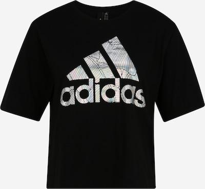 Tricou funcțional 'UNIV TEE 2 W' ADIDAS PERFORMANCE pe negru / argintiu, Vizualizare produs