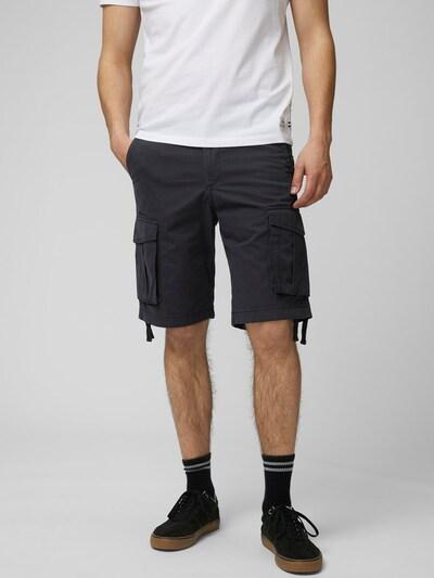 Produkt Baumwoll Cargoshorts in schwarz: Frontalansicht