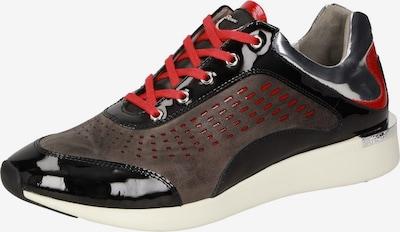 SIOUX Sneaker 'Malosika' in braun / rot / schwarz, Produktansicht