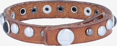 Liebeskind Berlin Armband in de kleur Bruin / Zwart / Wit, Productweergave