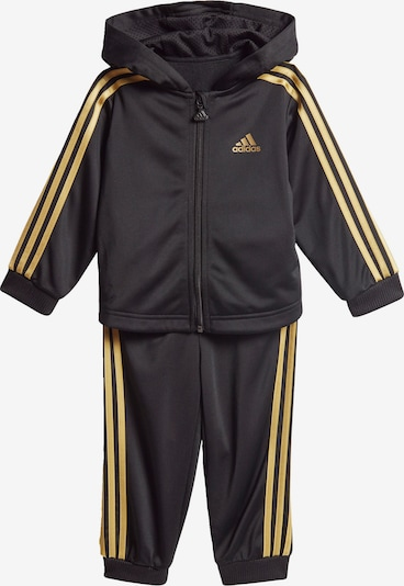 ADIDAS PERFORMANCE Jogginganzug in gold / schwarz, Produktansicht