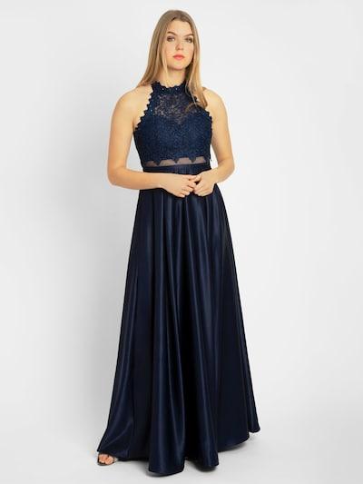 APART Abendkleid in blau, Modelansicht