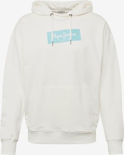 Pepe Jeans Sweatshirt 'Plato' in hellblau / offwhite, Produktansicht