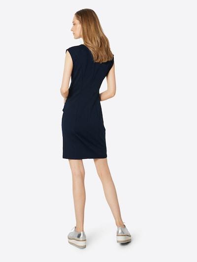 Kaffe Jersey-Kleid 'India' in nachtblau: Rückansicht