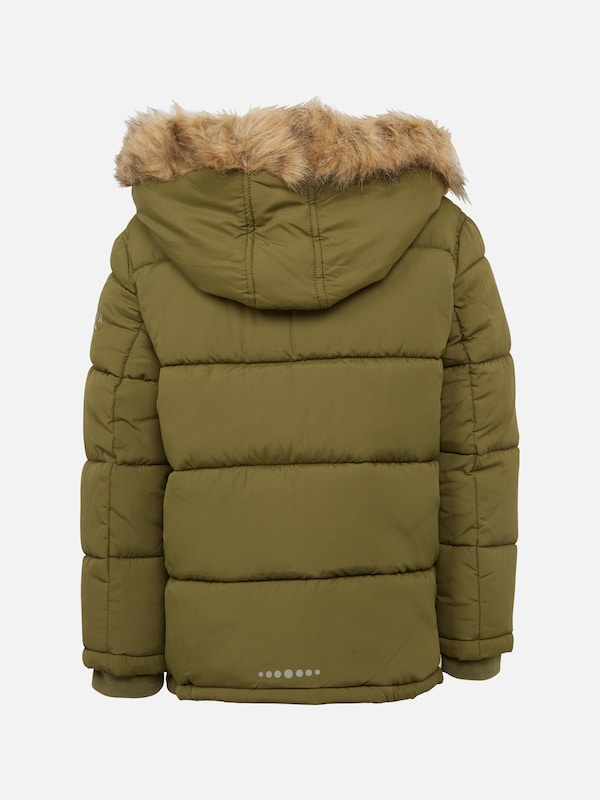 TOM TAILOR Winterjacke 'tech parker style' in oliv | ABOUT YOU