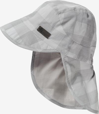 STERNTALER Schirmmütze mit UV-Schutz 15 in grau / weiß, Produktansicht