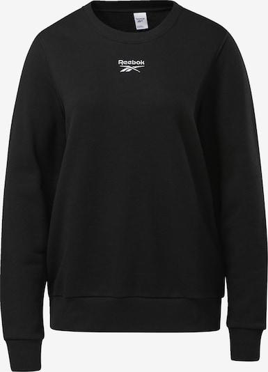 Reebok Classic Sweatshirt in schwarz / weiß, Produktansicht
