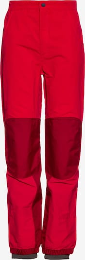 VAUDE Outdoorhose Caprea III in rot / blutrot: Frontalansicht