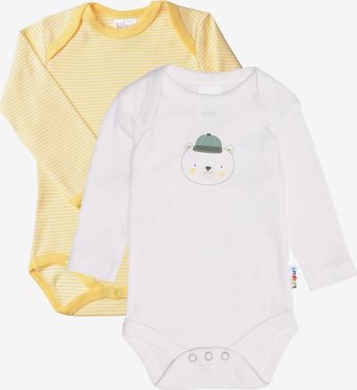 LILIPUT Bodys in gelb / weiß, Produktansicht