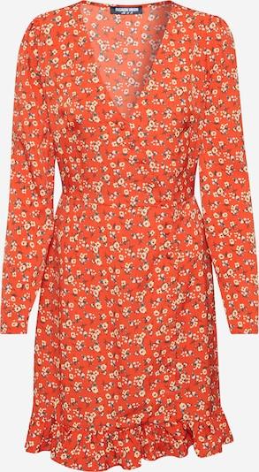 Fashion Union Haljina 'NATTIE' u narančasta / narančasto crvena, Pregled proizvoda