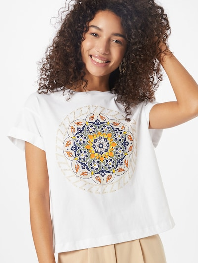 Rich & Royal Koszulka w kolorze mieszane kolory / białym: Widok z przodu