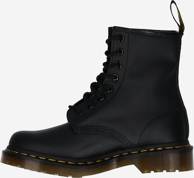Dr. Martens Lace-Up Ankle Boots in Green / Red / Black: Side view